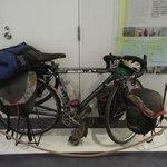 平成11年に世界一周した2台の自転車の内の1台