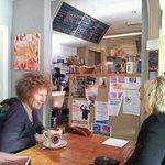 inside dinosaur cafe