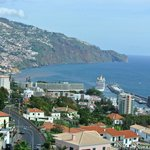 La Baie de Funchal vue de l'hôtel
