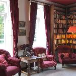 The Delphi Lodge Library - perfect for relaxation