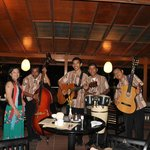 With the Band at Waterfront Restaurant
