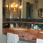 large marble bathroom