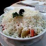 5. Salad sucked...