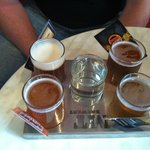 Beer sampler tray