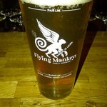 Flying Monkeys is one of the many local beers....