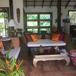 Inside Bang Chang villa