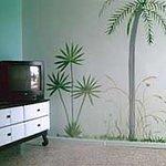 One Bedroom Livingroom mural.