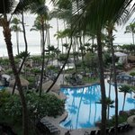 View from our room at the Westin Maui Resort and Spa