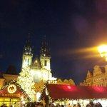 weihnachtliches Prag