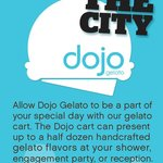 Dojo Gelato Cart and Catering