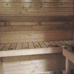 Sauna in the room