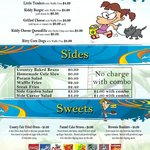 Kids Menu and Desserts