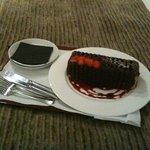 The birthday cake! :)