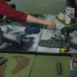 Some customers playing Warhammer 40k