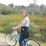 Nature Preserve on Island with Bicylce