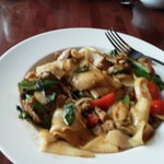 Drunken Noodles with Pork, Yum!
