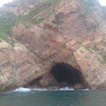 Cuevas alrededor del mar Sept 2012