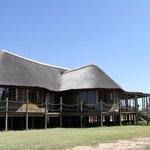 Our main building with bar, restuarant and reception