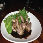 Roasted Quail Appetizer w/Sour Cherry Sauce
