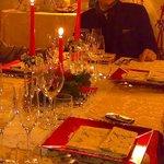 La tavola di Natale del Palazzo di Ridracoli 16/12/2012