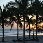 La plage du resort