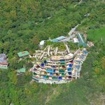 Jade Mountain from the Air!!!
