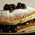 Blue berry hot cakes