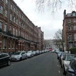 Nevern Square in front of the hotel