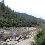 Merced River outside our Patio