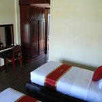 A twin deluxe room