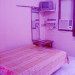 single a/c room......