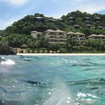 Shangri La Boracay from afar