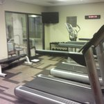 Picture of Gym;  Pool is Other Side of Window