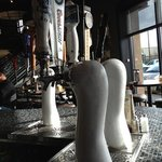 Beer Taps at Hop Jacks