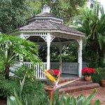 Gazebo used for weddings or bandstand