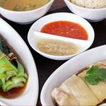 Savory Boiled Chicken and Hainan Rice