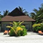 海边沙滩屋