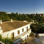 Terraza Superior con vistas a la Alhambra