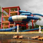 Attached waterpark