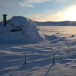 Hardangervidda at winter time