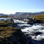 Beautiful hiking area at Hardangervidda
