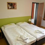 Double beds are typical in German hotels.