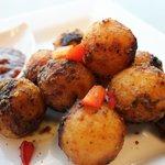 Seasoned Potato Balls