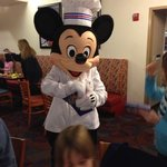 Mickey Mouse rockin the house!