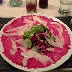 beef carpaccio - yummy!
