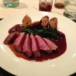 duck breast- very good