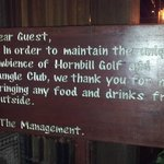 No outside food allow