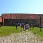 Guided tour around Älvsborgs fortress.
