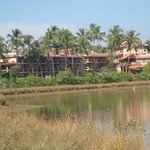 Hotel from lagoon