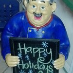 Happy holidays, from the Blue Cow Cafe